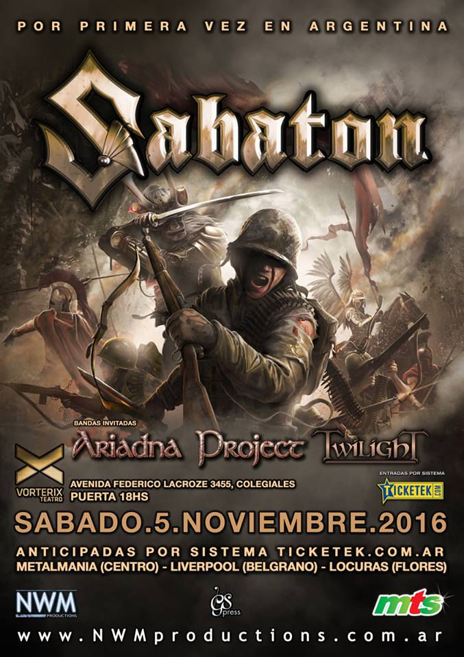 Image result for Vorterix Teatro metal