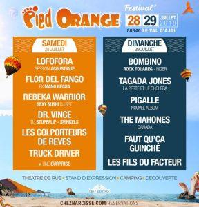 Pied Orange Festival @ Festival