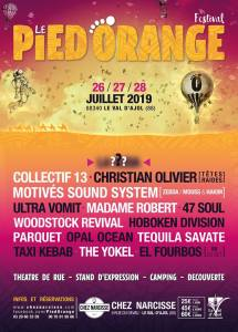Festival Le Pied Orange 2019 @ Chez Narcisse