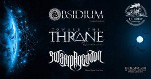"""Obsidium + Toward-The-Throne + Swarmageddon @ Bar Le Terminus """"Le Term Du Burns"""""""
