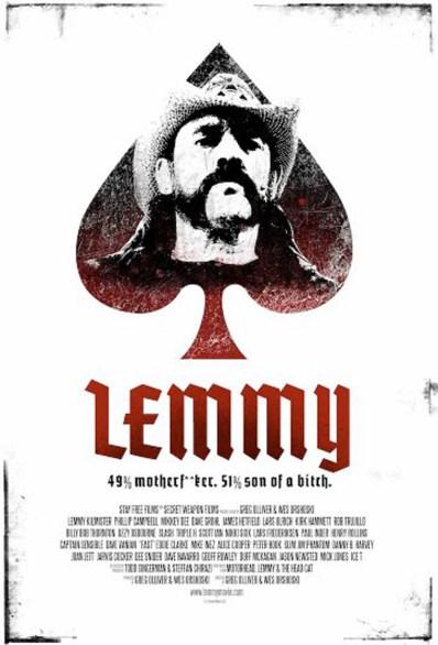 Lemmy - Movie Poster