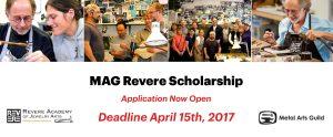 MAG Revere Scholarship 2017
