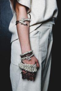 3. Borderline Personality Disorder: Scars - 2016 - copper, yarn