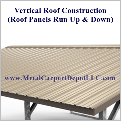 Vertical Roof Style Metal RV Cover Prices Metal Carport