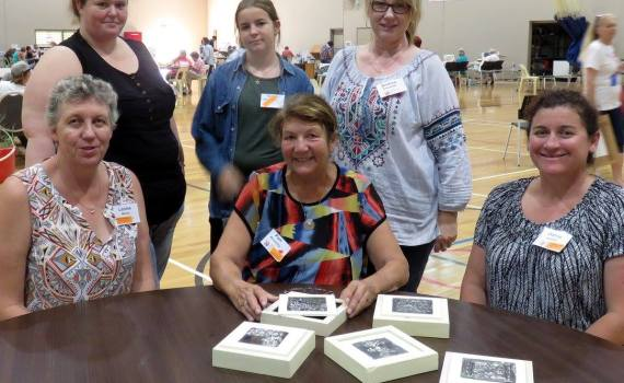 Zentangle Drawing Class Midwest Autumn Craft Round Up 2016