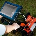 Ground penetrating radar Ditch Witch 2450 GR