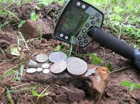 metal detecting treasure