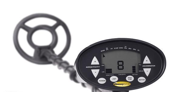 elite 2200 metal detector user manual
