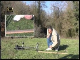 how to ground balance a metal detector