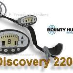 bounty hunter discovery 2200 metal detector review