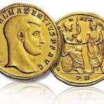 Ancient coins advertising the pricier in world