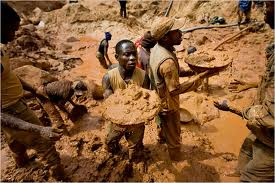 Methods of gold mining gold prospecting technology