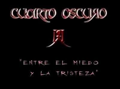 Cuarto Oscuro lyric-video de \