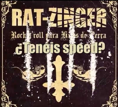 Rat-Zinger lyric-video de Tenéis Speed