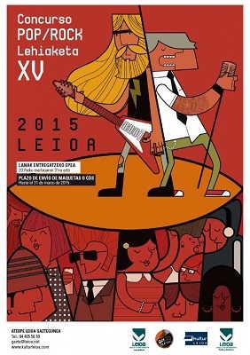 Finalistas del XV Concurso Pop Rock Leioa