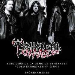 Typhareth reedición de su maqueta «Cold Immortality»
