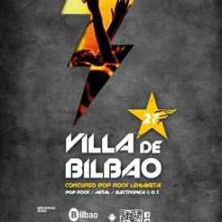 27 Concurso Pop Rock Villa de Bilbao calendario metal