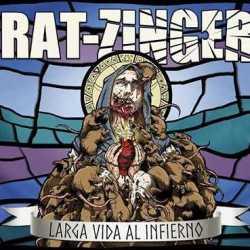 """Rat-Zinger portada de """"Larga Vida Al Infierno"""""""
