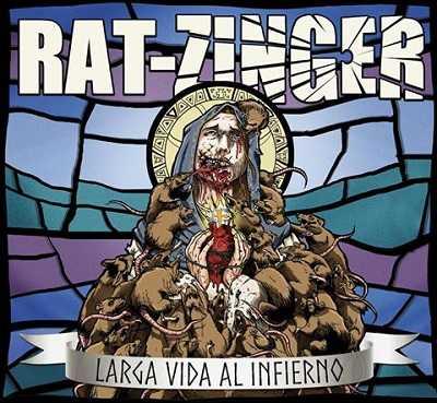 Rat-Zinger portada de Larga Vida Al Infierno