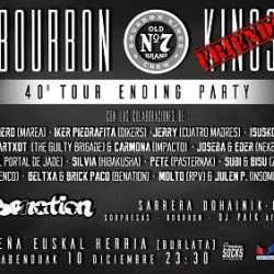 Bourbon Kings especial fin de gira 40º