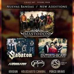 Resurrection Fest 2017 confirman bandas de Euskal Herria