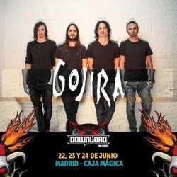Gojira también al Download Madrid