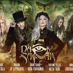 Zuberoa Aznárez colabora en el nuevo disco de Dark Sarah