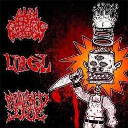 Mutilated Judge nuevo split con Anal Geriatric Infection y Urgl