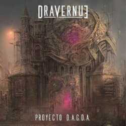 Dravernue presentan la portada de su primer disco «Proyecto D.A.G.D.A.»