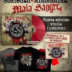 SOZIEDAD ALKOHOLIKA edita su álbum 'Mala Sangre', en un exclusivo formato vinilo, el próximo 11 de junio
