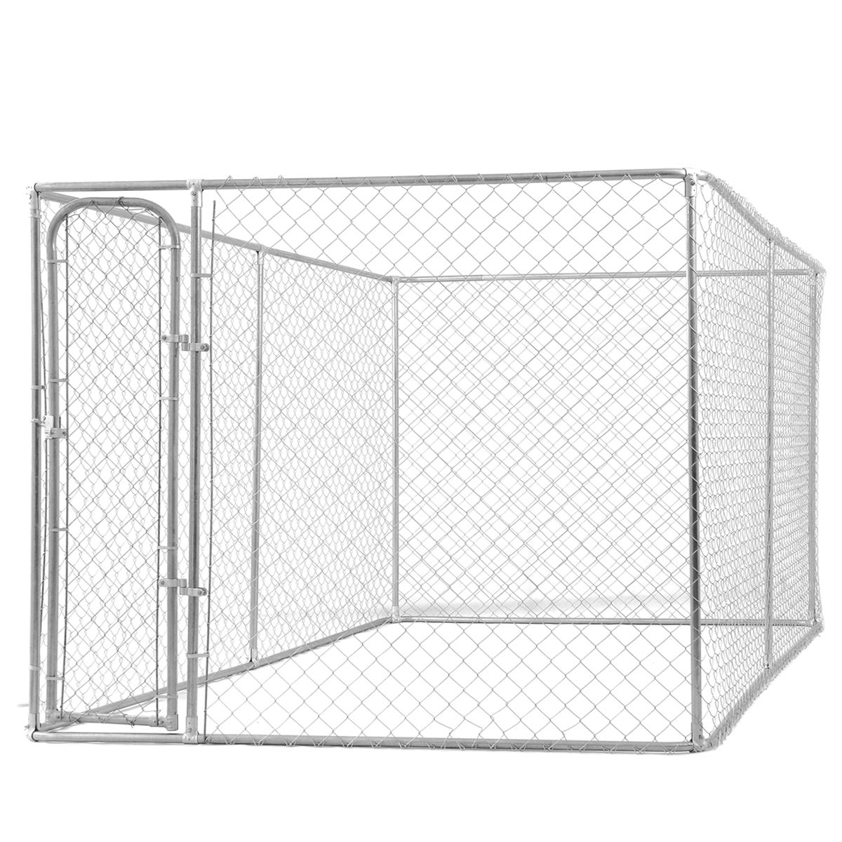 Chain Link Dog Kennel Large Dog Fence