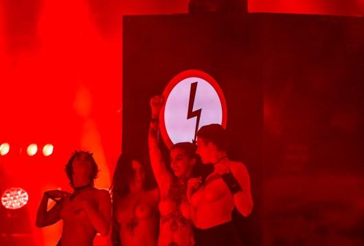 Marilyn Manson au Hellfest le 24 juin 2018