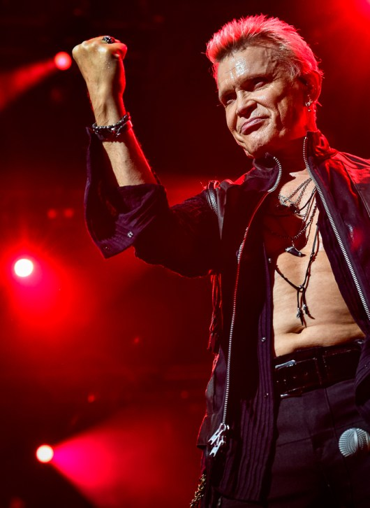Billy Idol au Montreux Jazz Festival le 05/06/2018