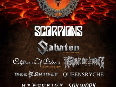 Bloodstock Open Air Headliner