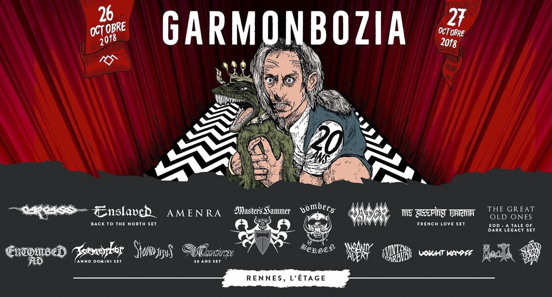 Garmonbozia 20 ans Festival Poster