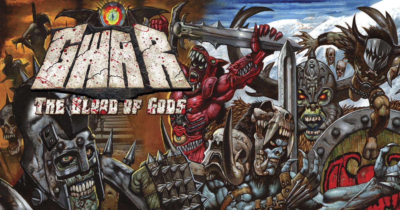 gwar Blood Of God cover