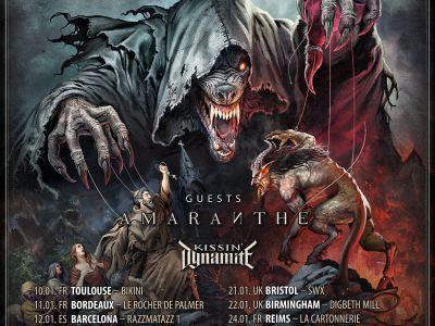 Powerwolf tournée 2019