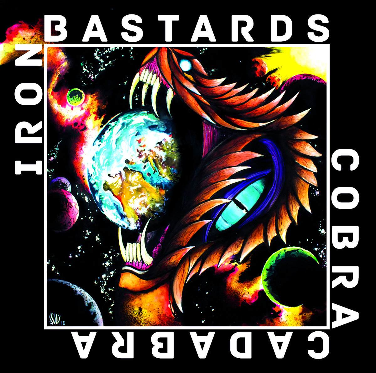 Cobra cadabra du groupe IRON BASTARDS