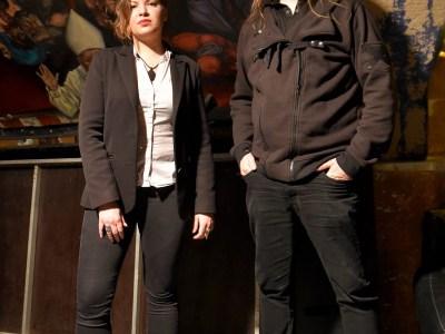 Ombeline Duprat et Johann Cadot d'Asylum Pyre en 2019