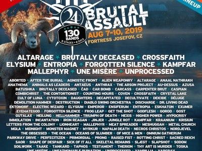 Brutal Assault mai 2019 affiche