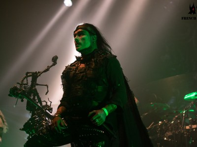 Cradle of filth la machine du moulin rouge 25/04/2019
