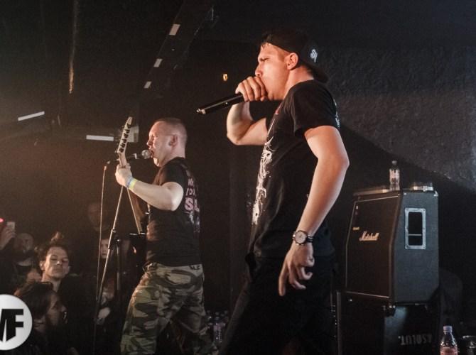 Extermination Dismemberment au Gibus live en 2019