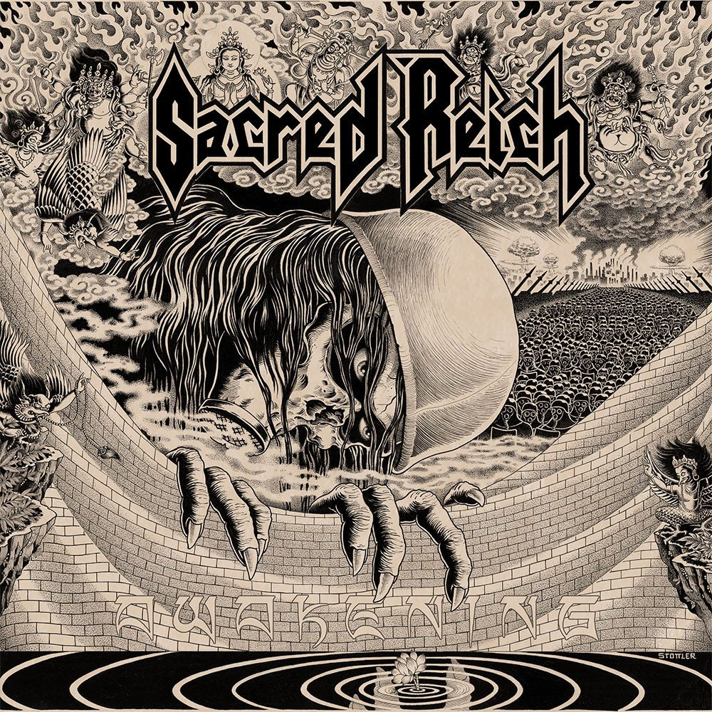 cover awakening du groupe sacred reich