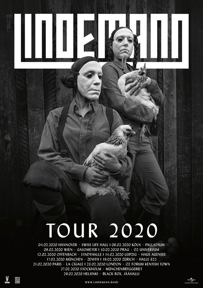 Lindemann - concerts 2020