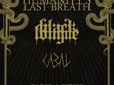 Concert de Humanity's last breath, Black Tongue, Cabal au gibus à Paris