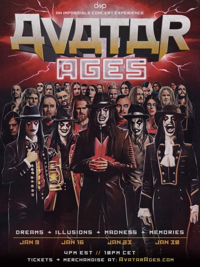 Avatar - concerts 2021