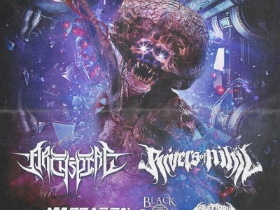 Concert d'ARCHSPIRE, RIVERS OF NIHIL, ALLEGAEON, BLACK CROWN INITIATE, TO THE GRAVE au Gibus à Paris