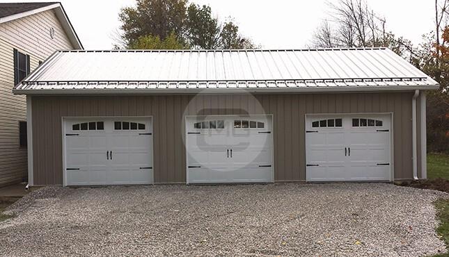 30x41 Side Entry Garage Shop Side Entry Garage
