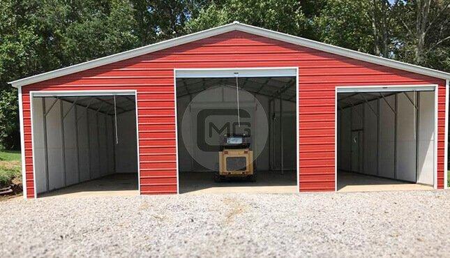 Metal Garages Prefab Metal Buildings Steel Garage