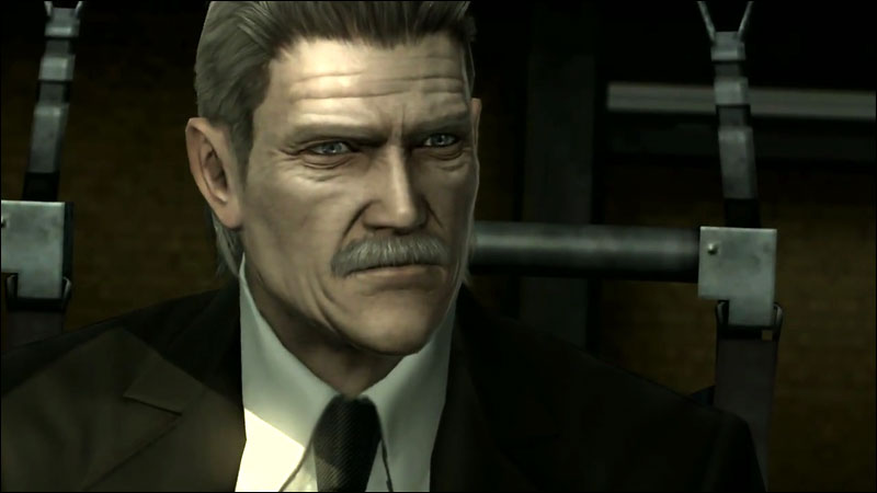 Image result for Solid Snake old